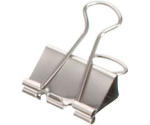 120 Maul Foldback-Klammern Stärke 7mm Breite 19mm klammer Foldbackklammer nickel