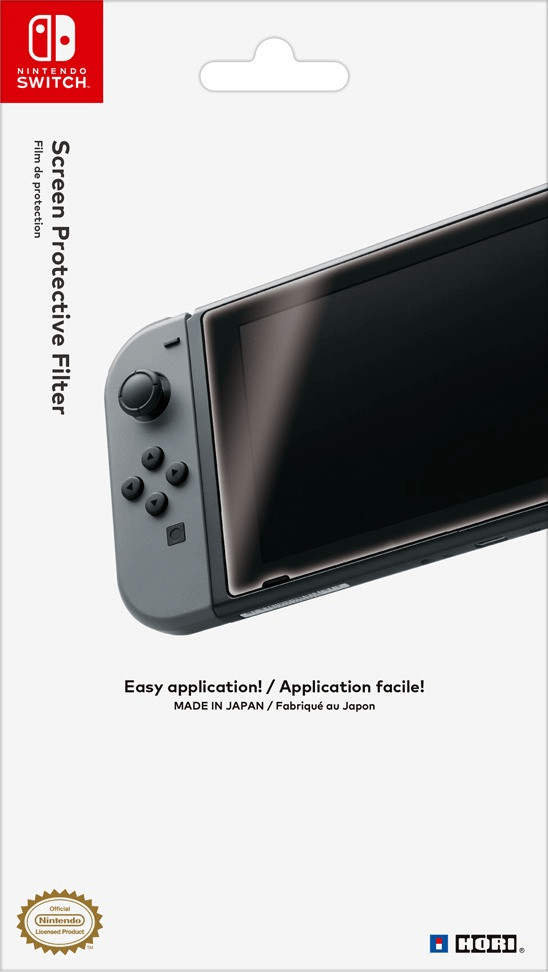 Image of Hori Screen Protective Filter (Nintendo Switch)