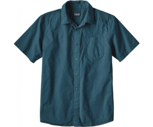 Patagonia Men's Fezzman Shirt Regular Fit whole weave: bay blue