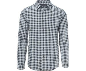 Patagonia Men's Long-Sleeved Fezzman Shirt Regular Fit diver small: navy blue