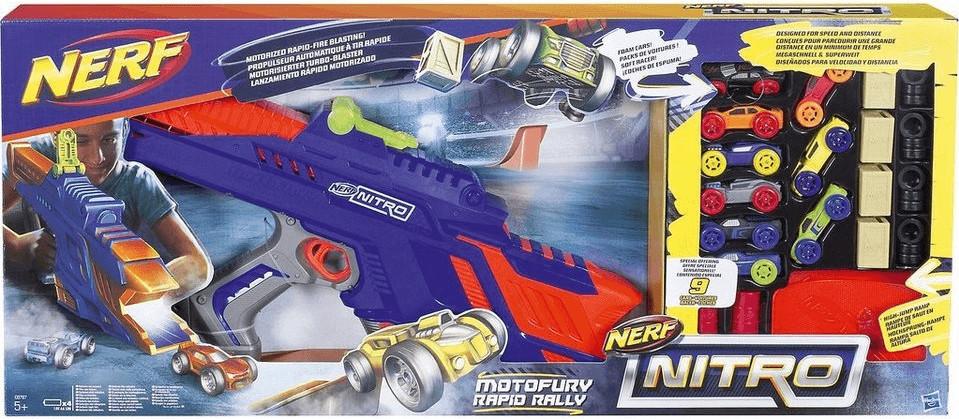 Nerf Nitro - MotoFury Rapid Rally (C0787)