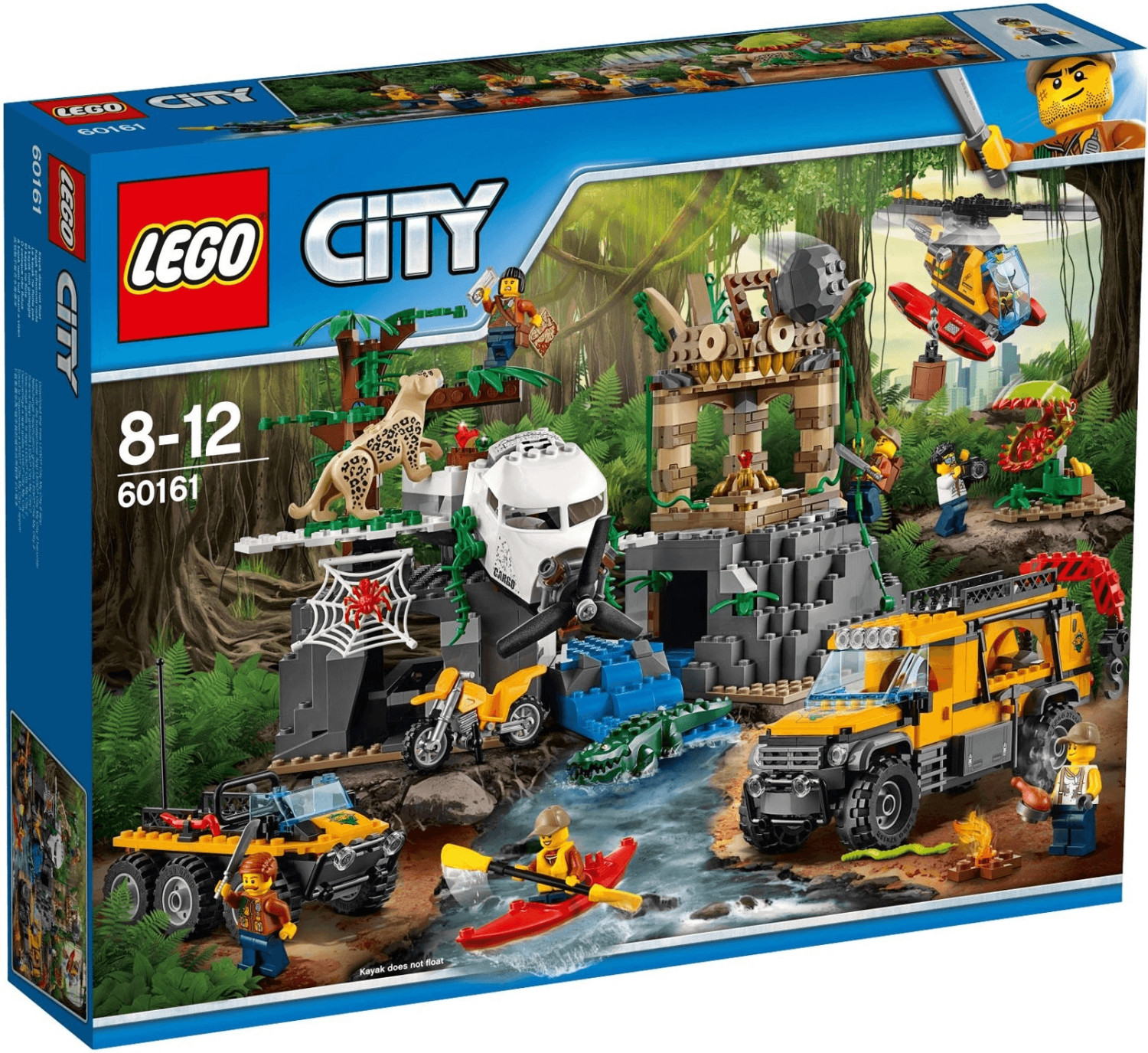 LEGO City - Le site d'exploration de la jungle (60161)