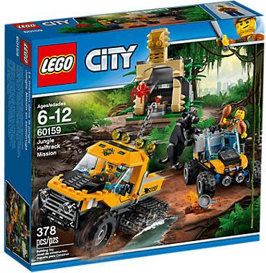 LEGO City - Mission mit dem Dschungel-Halbkettenfahrzeug (60159)