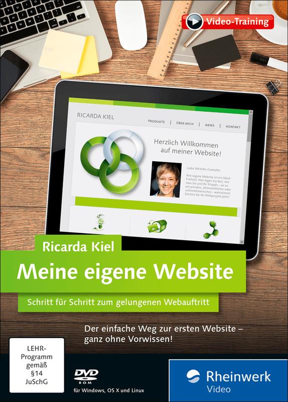 Rheinwerk Verlag Meine eigene Website: Schritt ...