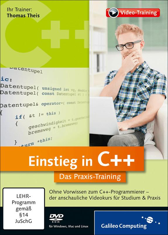 Rheinwerk Verlag Einstieg in C++: Das Praxis-Tr...