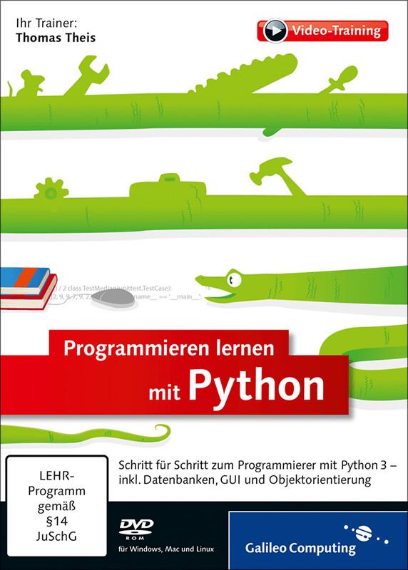 Rheinwerk Verlag Programmieren lernen mit Pytho...