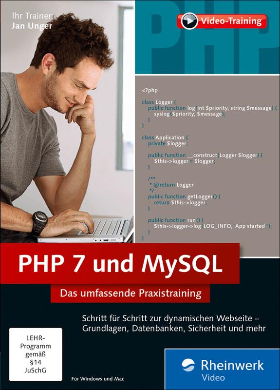 Rheinwerk Verlag PHP 7 und MySQL: Das umfassend...