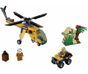LEGO City Dschungel Frachthubschrauber (60158) ab € 18,89