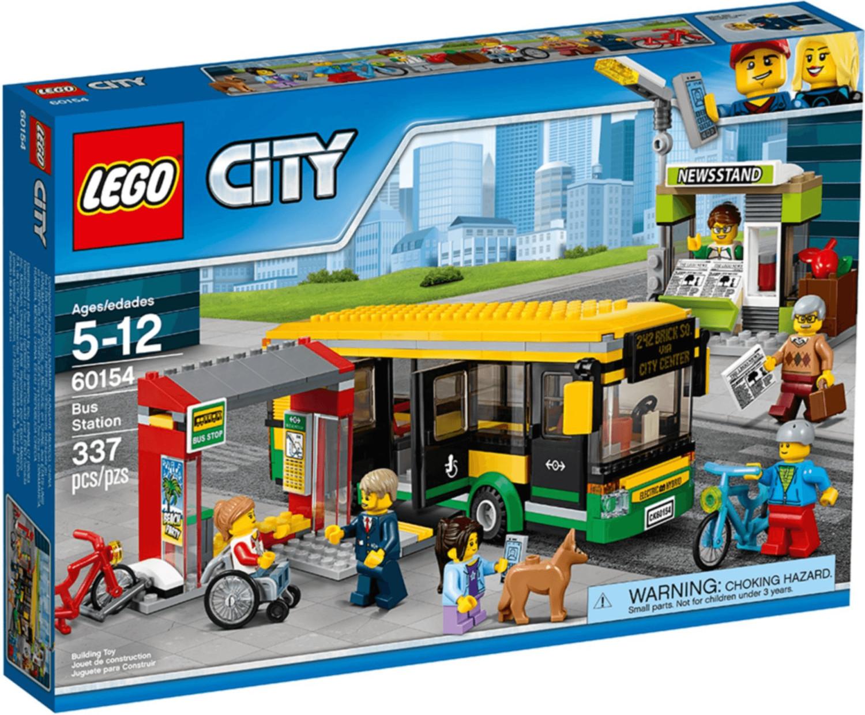 LEGO City - La gare routière (60154)