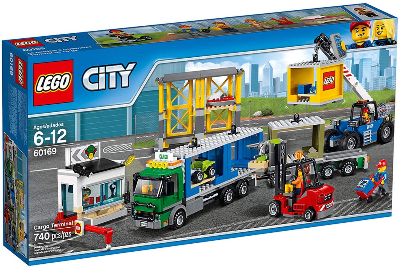 LEGO City - Frachtterminal (60169)