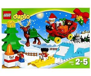 Duplo Weihnachten.Lego Duplo Winterspaß Mit Dem Weihnachtsmann 10837 Ab 18 99