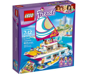 lego friends le catamaran 41317 au meilleur prix sur. Black Bedroom Furniture Sets. Home Design Ideas