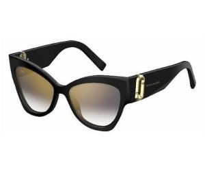 MARC JACOBS Marc Jacobs Damen Sonnenbrille » MARC 109/S«, schwarz, 807/FQ - schwarz/ gold