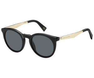 MARC JACOBS Marc Jacobs Damen Sonnenbrille » MARC 198/S«, schwarz, 807/IR - schwarz/grau