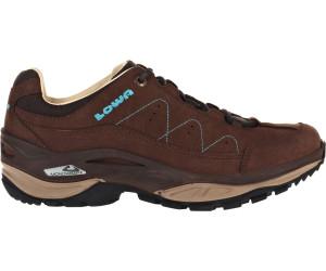 Lowa Strato IV LO Braun, Damen Hiking- & Approach-Schuh, Größe EU 41.5 - Farbe Schiefer-Petrol %SALE 30% Damen Hiking- & Approach-Schuh, Schiefer - Petrol, Größe 41.5 - Braun