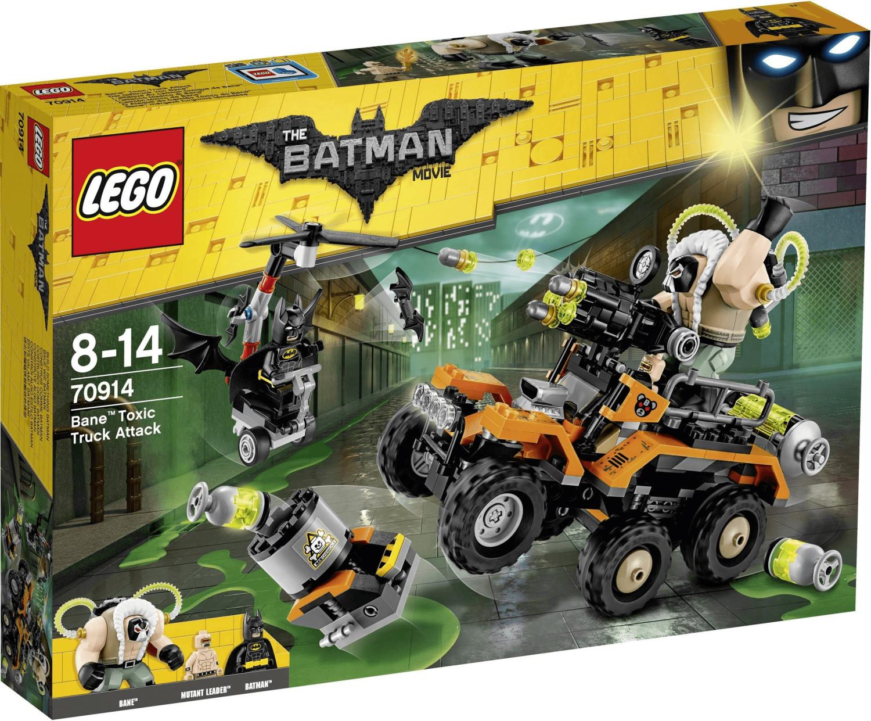 LEGO Batman - L'attaque du camion toxique de Bane (70914)