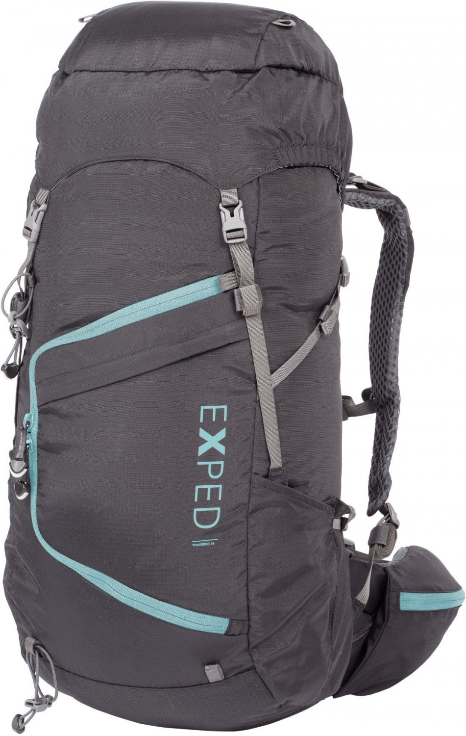 Exped Traverse 35 S/M black/poolblue