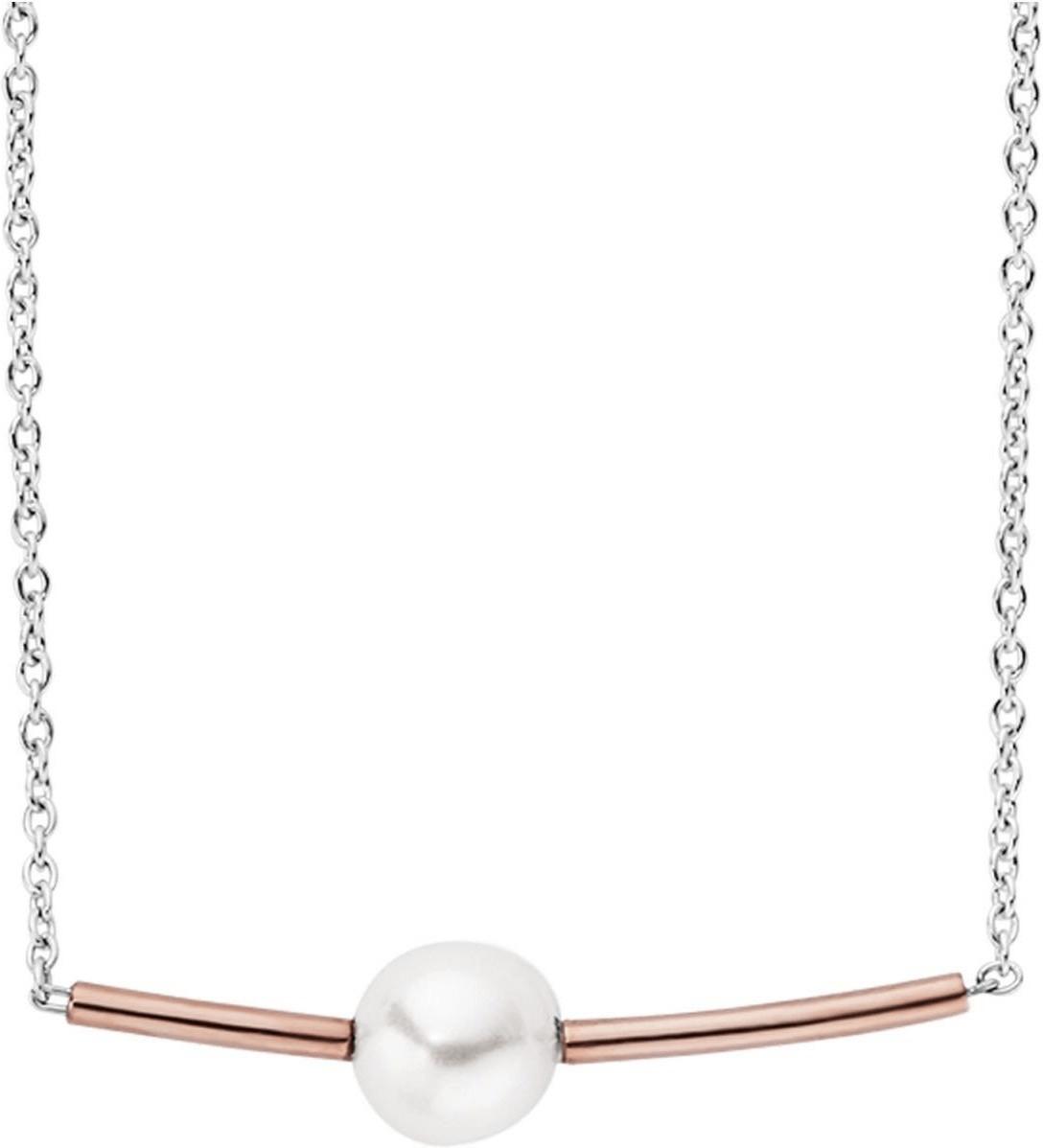 Skagen Agnethe Gold-Tone Pearl Necklace (SKJ0948P)