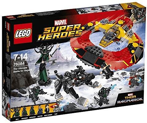 LEGO Marvel Super Heroes - La bataille suprême pour la survie d'Asgard (76084)