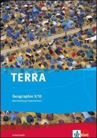 TERRA Geographie für Mecklenburg-Vorpommern. Arbeitsheft 9./10. Klasse. Ausgabe für Gymnasien