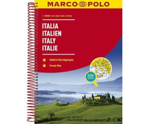 MARCO POLO Reiseatlas Italien 1:300 000. Italia / Italy / Italie