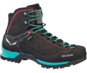 Salewa Damen WS MTN Trainer Mid Gore-Tex Trekking-& Wanderstiefel, Braun (Walnut/Swing Green 2720), 35 EU