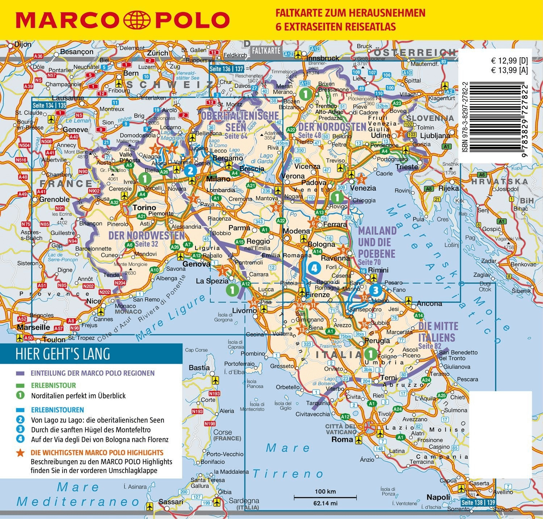 #MARCO POLO Reiseführer Italien Nord (Dürr, Bettina)#