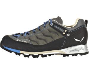 Salewa Mountain Trainer Leather Grau, Damen Hiking- & Approach-Schuh, Größe EU 40.5 - Farbe Pewter-Riviera %SALE 20% Damen Hiking- & Approach-Schuh, Pewter - Riviera, Größe 40.5 - Grau