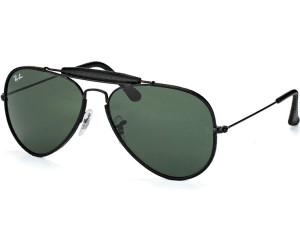 RAY BAN RAY-BAN Herren Sonnenbrille »AVIATOR CRAFT RB3422Q«, schwarz, 9040 - schwarz/grün