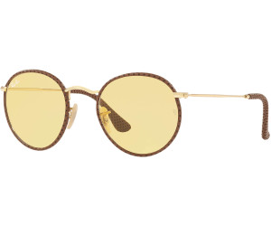 762f9f1d10bf5 Buy Ray-Ban Round Craft RB3475Q 90424A (brown-gold yellow ambermatic ...