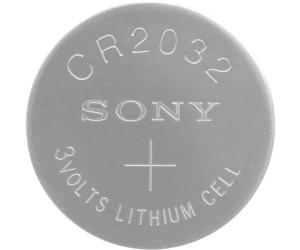 5x Pile Bouton Varta CR2032 Lithium 3V Piles 5 Pièces