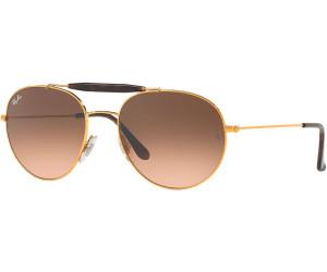 Ray-Ban RB3540 Sonnenbrille Gold 001 56mm 8CJkRv4Mj