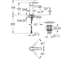 GROHE Lineare XS-Size (23791001) ab 115,00 € | Preisvergleich bei ...