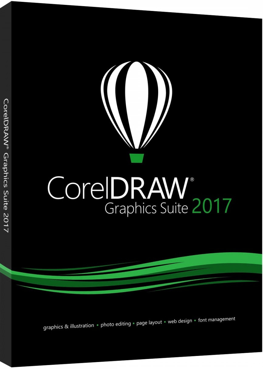 Corel CorelDRAW Graphics Suite 2017 (DE) (Box)