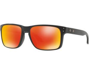 Oakley Holbrook Round Prizm Sonnenbrille Schwarz/Grün OLkQEV