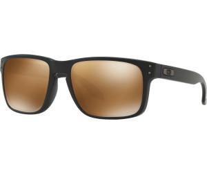 Oakley Herren Sonnenbrille »HOLBROOK OO9102«, schwarz, 9102D7 - schwarz/braun
