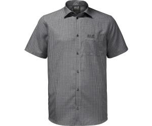 Turnschuhe populärer Stil große Sammlung Jack Wolfskin El Dorado Shirt Men black checks ab 35,42 ...