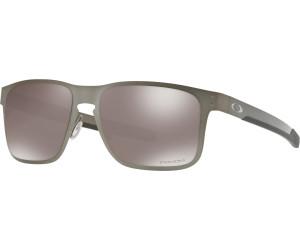 Oakley Holbrook Metal Prizm Sapphire Polarized Sonnenbrille Schwarz/Bronze EMs5t
