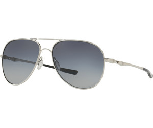 Oakley Elmont M Sonnenbrille Polished Chrome/Grey Gradient Pola z9yHP