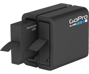 Gopro Batterie Chargeur Double + Batterie (HERO5,6,7 Black