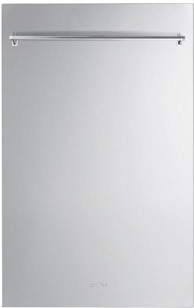 Smeg Edelstahlfront mit Griff 45 cm (KIT4CX-1)