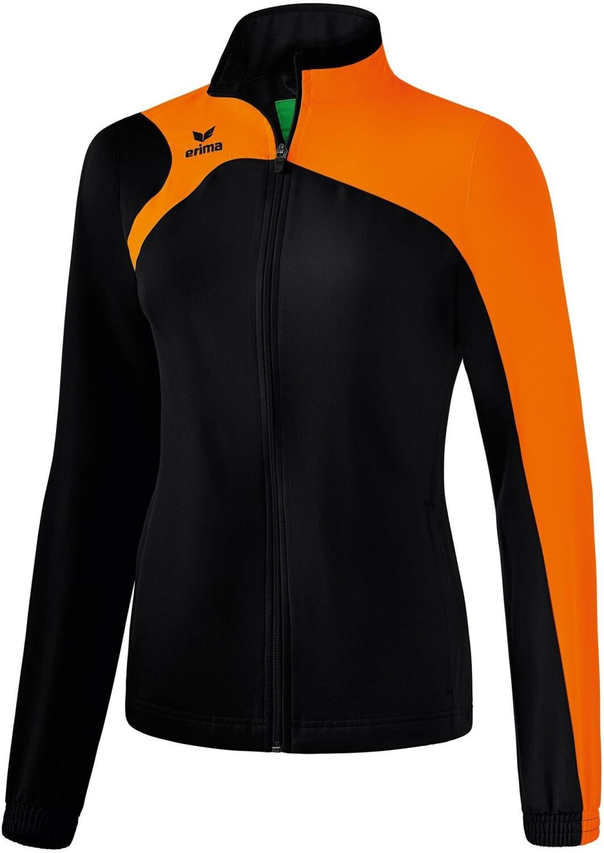 Erima Club 1900 2.0 Präsentationsjacke Damen schwarz/orange