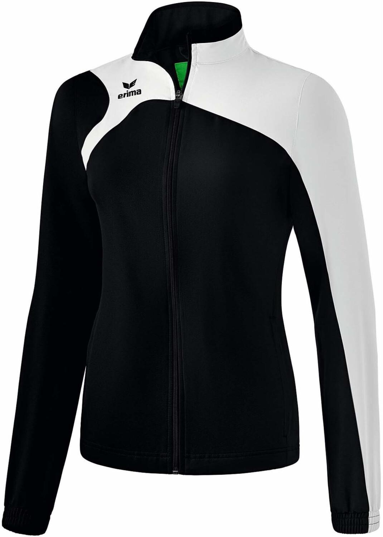 Erima Club 1900 2.0 Präsentationsjacke Damen schwarz/weiß