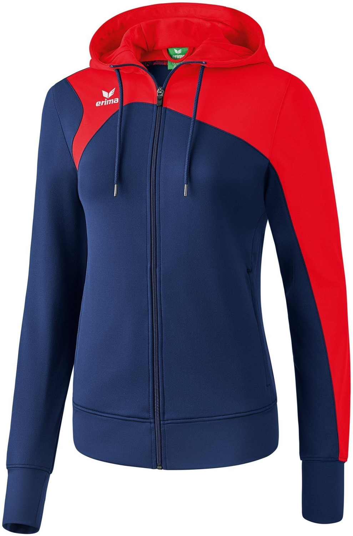 Erima Club 1900 2.0 Trainingsjacke mit Kapuze Damen new navy/rot