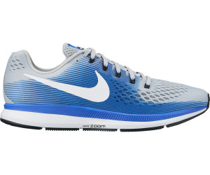 209adc9e445f ... (880555) wolf grey racer blue deep royal. Nike Air Zoom Pegasus 34  Running Shoes