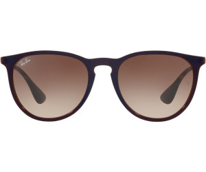 Buy Ray-Ban Erika RB4171 631513 (brown-silver brown gradient) from ... 62d37298197