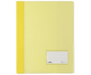 DURABLE Schnellhefter DURALUX DIN A4 30 Blatt Überbreite Innentasche orange
