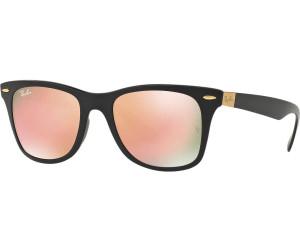 Ray Ban Ray-Ban Herren Sonnenbrille »wayfarer Liteforce Rb4195«, Schwarz, 601s2y - Schwarz/rosa