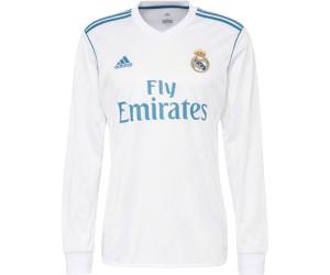 6196facbcad40 Adidas Real Madrid Home Jersey 2017 2018 longsleeve desde 48