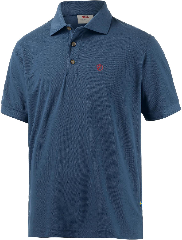 Fjällräven Crowley Piqué Polo Shirt uncle blue